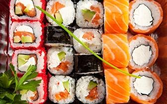 All You Can Eat de Sushi à la Carte + Sobremesa ao Jantar por 9,90€ na Baixa!