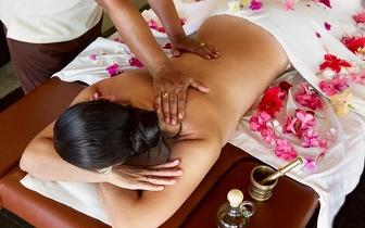 Massagem de Relaxamento à cabeça e corpo por 21€ no Príncipe Real!
