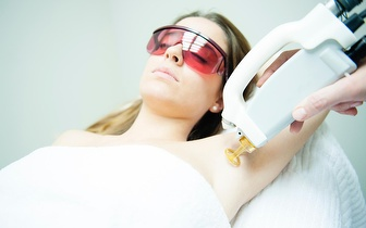 Depilação a Laser de Diodo: Peito, Abdómen e Axilas por 35€ em Leiria!