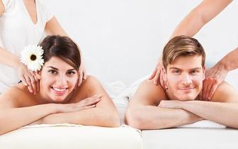 Massagem de Casal com Ritual Relaxante por 19€ em Corroios!