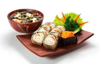 15% desconto em Sushi na Carta e Take-away em Aveiro ao almoço!