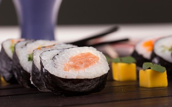 All You Can Eat de Sushi à la Carte + Sobremesa ao Almoço por 9,90€ na Baixa!