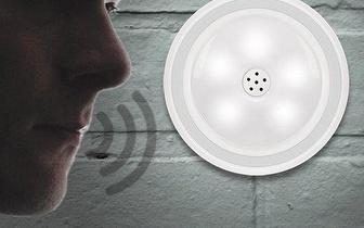 Foco Led com Sensor de Volume de Voz por 12,65€ com entrega em todo o País!