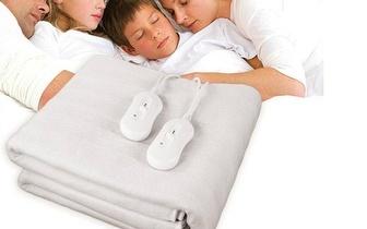 Cobertor Elétrico para Casal por 27,90€ com entrega em todo o País!