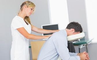 Massagem Terapêutica de Shiatsu na cadeira por 5€ em Roma/Areeiro!