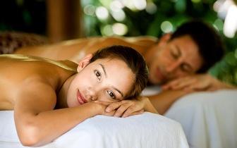 Massagem Relaxamento de Casal + Flute Champanhe por 19€ na Boavista!