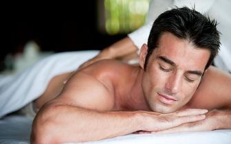 Para Homens: Limpeza de Pele Profunda + Massagem Localizada por 16€ na Boavista!
