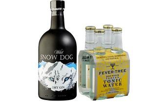 Gin Wild Snow Dog + Tonic + Guia por 25,90€ com entrega em todo o País!