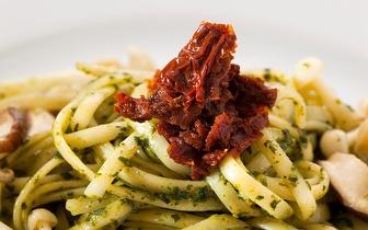 Take away com 10% desconto em comida italiana em São Sebastião!