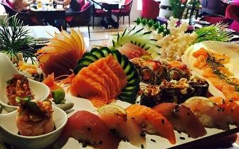 Sushi Autor ao Almoço: Combinado 18 Peças + Bebida + Café por 12,90€ no Estoril!