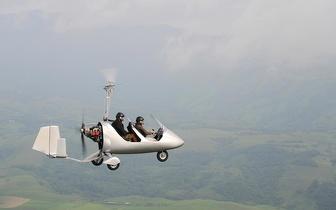 ¡Bautismo de vuelo en autogiro por solo 59€ en aeródromo general Vives!