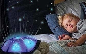 Tartaruga Constelações com Luz e Música por 9,90€ com Portes incluídos!