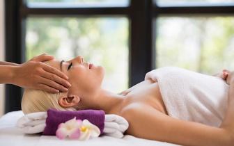 Massagem Relaxamento + Limpeza Facial por 45€ nos Olivais!