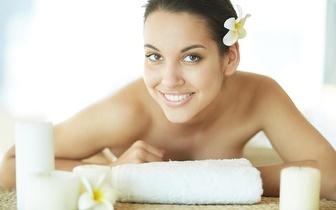 Pack Natal: Massagem + Limpeza Facial + Pedicure + Manicure por 49€ em Rio de Mouro!