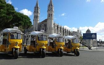 Ofereça um Passeio em Tuk Tuk por Lisboa neste Natal! Até 6 pessoas por 25€!
