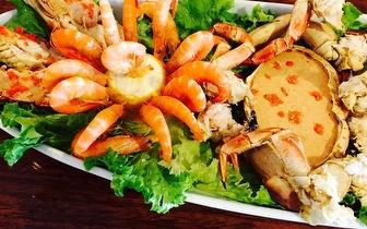 Mariscada ao Jantar para 2 pessoas por 20€ no Restaurante Tertúlia do Paço em Lisboa!