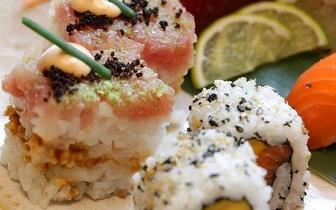 Sushi de Autor + Cocktails num Menu para 2 pessoas por 36€ na Foz!