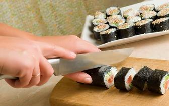 ¡Curso de Sushi para 2 personas con Degustación 34€ en B. Salamanca!