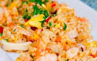 Menu para 2 Pessoas de Arroz de Marisco ou Peixe na Brasa por 35€ ao Jantar na Póvoa de Varzim!