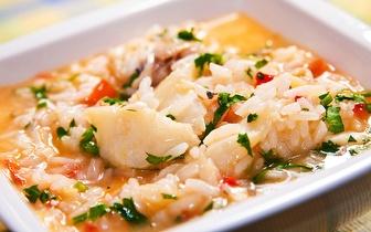 Menu para 2 ao Jantar com Arroz de Peixe e Vista para o Mar por 24€ na Póvoa de Varzim!