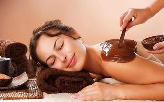 Chocoterapia com Massagem Corporal por 19€ em Corroios!