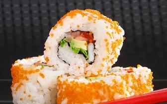 Jantar de Sushi para 2 Pessoas: 45 Peças + Cafés por 29€ em São Domingos de Rana!