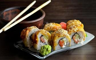 Almoço de Sushi de Fusão para 2 Pessoas: 45 Peças + Cafés por 29€ em São Domingos de Rana!