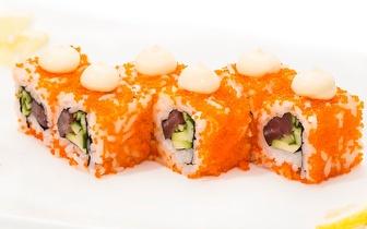 Almoço de Sushi para 2 Pessoas: 45 Peças + Cafés por 29€ em Mem Martins!