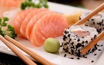 Jantar de Sushi para 2 Pessoas: 45 Peças + Cafés por 29€ em Mem Martins!