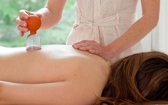Massagem de Relaxamento/Terapêutica localizada com Ventosateparia por 20€ na Baixa!