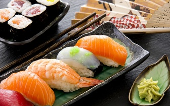 All You Can Eat de Sushi + Sobremesa ao almoço por 8,50€ em Alverca!