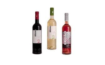 Conjunto com  3 Vinhos Brindão por 9,90€!