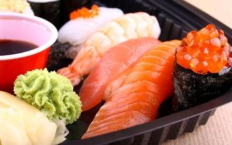 Take-away ao Jantar de Sushi ou Comida Chinesa: 4,90€ por Caixa no Parque das Nações!