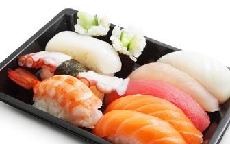 Take Away de Sushi ou Comida Chinesa: 4,90€ por Caixa no Parque das Nações ao almoço!