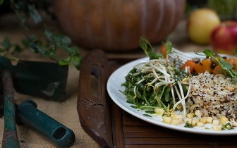 Menu Vegetariano ao Jantar para 2 pessoas por 18€ no Príncipe Real!