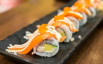 Menu Completo de Sushi para 2 Pessoas por 29€ no Rato ao almoço!