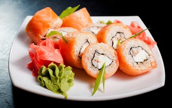 Menu de Sushi parra 2 Pessoas por 19€ ao Almoço nos Anjos!