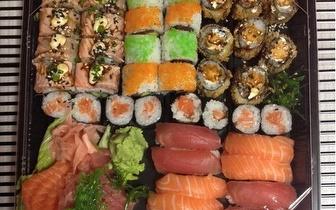 Take-away ao almoço: Combinado de Sushi 44 Peças por 19€ nos Anjos!