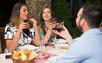 Jantar de Grupo 'Do Infante' com bebida à discrição por 25€/pessoa junto à Av. 24 de Julho!