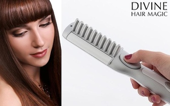 Escova de Alisamento Divine Hair Magic por 16,90€ com entrega em todo o País!