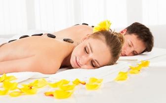 Pack Romântico: Massagem Pedras Quentes + Mini Facial para Casal por 24€ em Setúbal!
