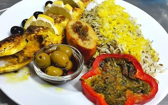 Menu Iraniano para 2 pessoas por 16€ em Santa Apolónia!