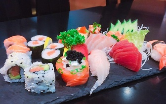 All You Can Eat de Sushi ao Jantar por 14€ em Entrecampos!