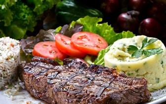 Menu de Carne para 2 pessoas ao Almoço por 35€ na Parede!