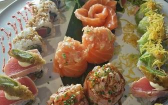 Sushi de Fusão para 2 Pessoas por 25€ na Parede ao jantar!