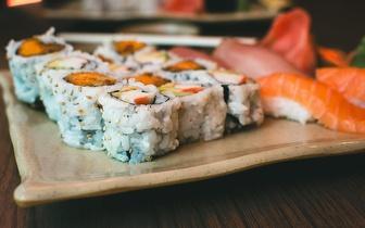 Sushi de Fusão para 2 Pessoas por 25€ na Parede ao almoço!