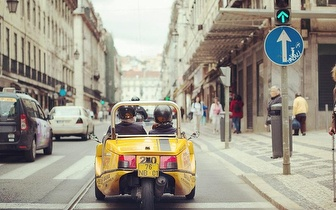 Passeio por Lisboa em GoCar de 1h30 por 7€/pessoa!