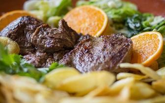 Grelhados: Menu para 2 ao Almoço por 19€ em Gaia!