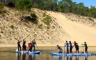 Peddy-Paper em Kayak + SUP ou Mega SUP por 10€/pessoa na Lagoa de Albufeira!