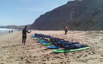Aula de iniciação ao Surf por 15€/pessoa na Ericeira ou Carcavelos!